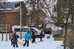 Gym in de sneeuw 1